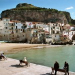The Rocca overlooking Cefalu