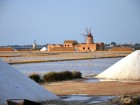 Salt and windmills in the salt pans