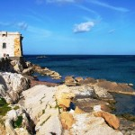 the Torre di Ligny in Trapani