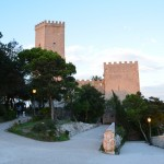 The Pepoli towers in Erice