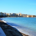 other view of the waterfront in Trapani
