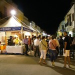 one of the many gastronomic events in San Vito