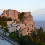 The impressively sited Castello di Venere in Erice.