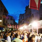Many visitors in Cefalu for the Sherbert Festival