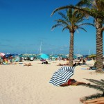 The white sandy beach of San Vito lo Capo
