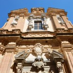 A beautiful Baroque facade