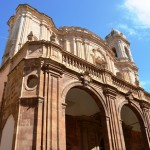 The cathedral in Trapani