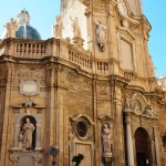 The beautiful Baroque Chiesa del Purgatorio