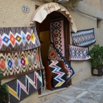 a handmade carpets shop