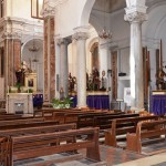 inside the Chiesa del Purgatorio