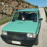 A funny Fiat Panda to stroll on the island