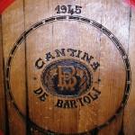 A huge barrel in De Bartoli winery