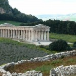 The majestic temple of Segesta