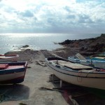 Fishers boats in Pantelleria