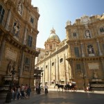 I Quattro Canti in Palermo