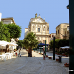 Other view of Alcamo main square