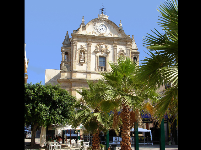 One of the three churches of Piazza Ciullo in Alcamo