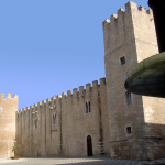 "The Castle of the ""Conti di Modica"" in Alcamo"