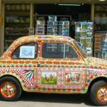A modern sicilian cart !