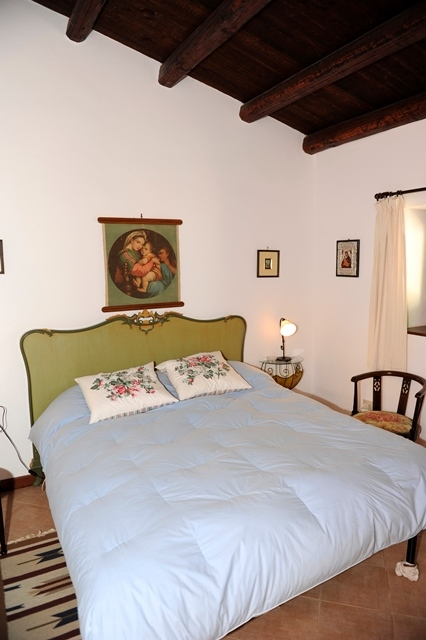 the second double room in the main villa