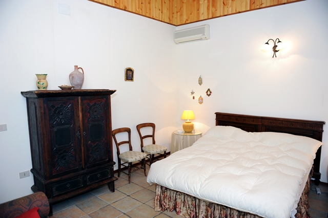 the third double bedroom in the main villa