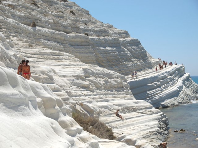 The beach of La Scala dei Turchi